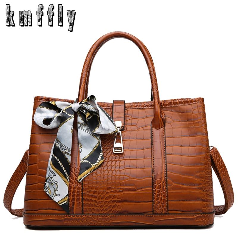 Brown Luxury Handbag Women Bags Designer Brand Leather Handbags Vintage Crossbody Bags For Women 2020 New Shoulder Bag Tote Bag