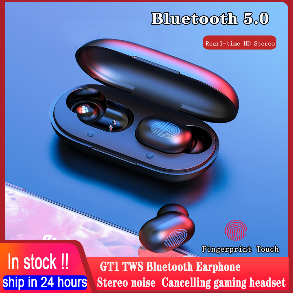 haylou GT1 TWS Bluetooth 5 0 Earphone IPX5 Real-time Stereo Wireless Headphones Earbuds Noise Cancelling Gaming Headset With Mic