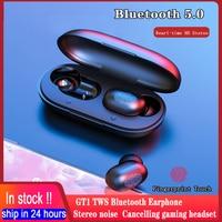 Haylou GT1 TWS Bluetooth 5,0 Kopfhörer IPX5 Echt-zeit Stereo Drahtlose Kopfhörer Ohrhörer Noise Cancelling Gaming Headset Mit Mic