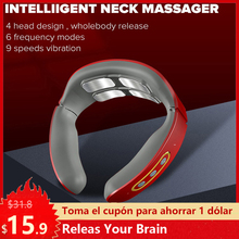 Relief-Tool Neck-Massager Health-Care Cervical-Vertebra Relaxation Pulse Pain Magnetic
