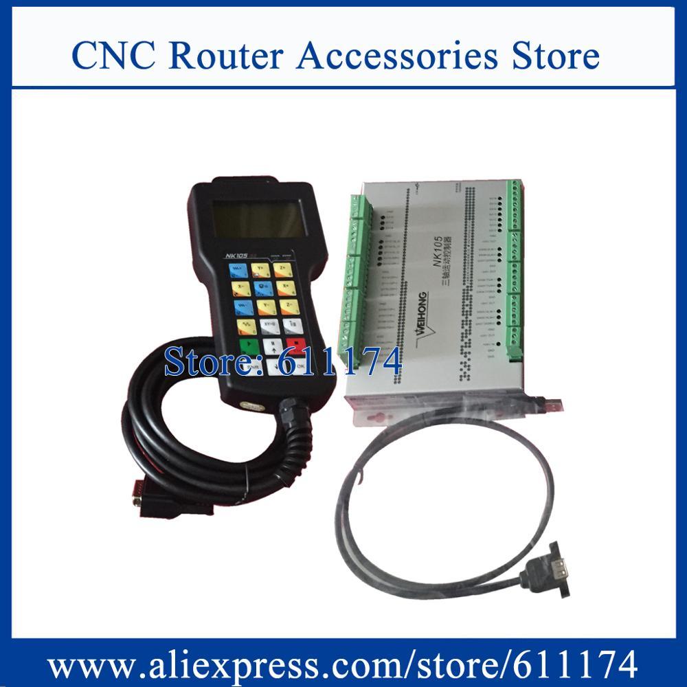 Original Weihong NK105G2 3 Achsen DSP Controller integrierte CNC-system NK105 Motion control system