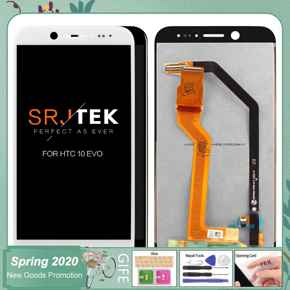 For <font><b>HTC</b></font> <font><b>10</b></font> <font><b>EVO</b></font> Bolt LCD Display + Touch Digitizer <font><b>Screen</b></font> glass For <font><b>HTC</b></font> <font><b>10</b></font> <font><b>EVO</b></font>/Bolt 5.5inch 2560*1440 image
