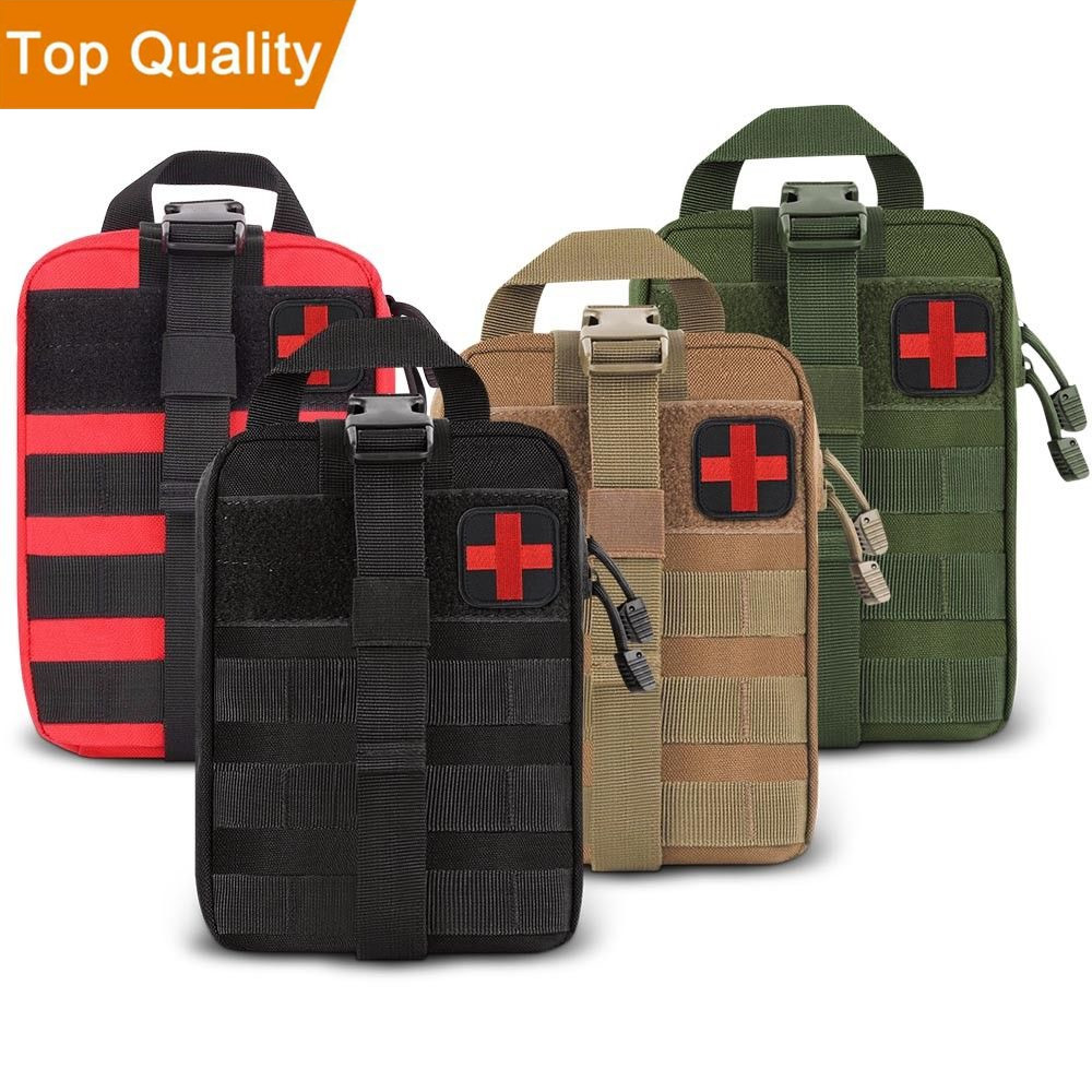 Outdoor First Aid Kits Sports Should Mountaineering Rock Climbing Lifesaving Bag Tactical Medical Wild Survival Emergency Kit