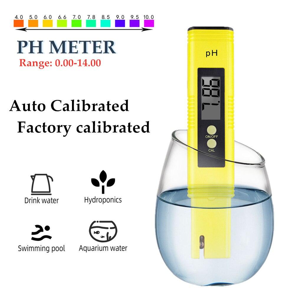 Измеритель PH 0,00 PH тестер Высокая точность тестирование качества воды 14,00-PH диапазон измерения подходит для аквариума бассейна