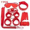 7 Red BDSM Kits