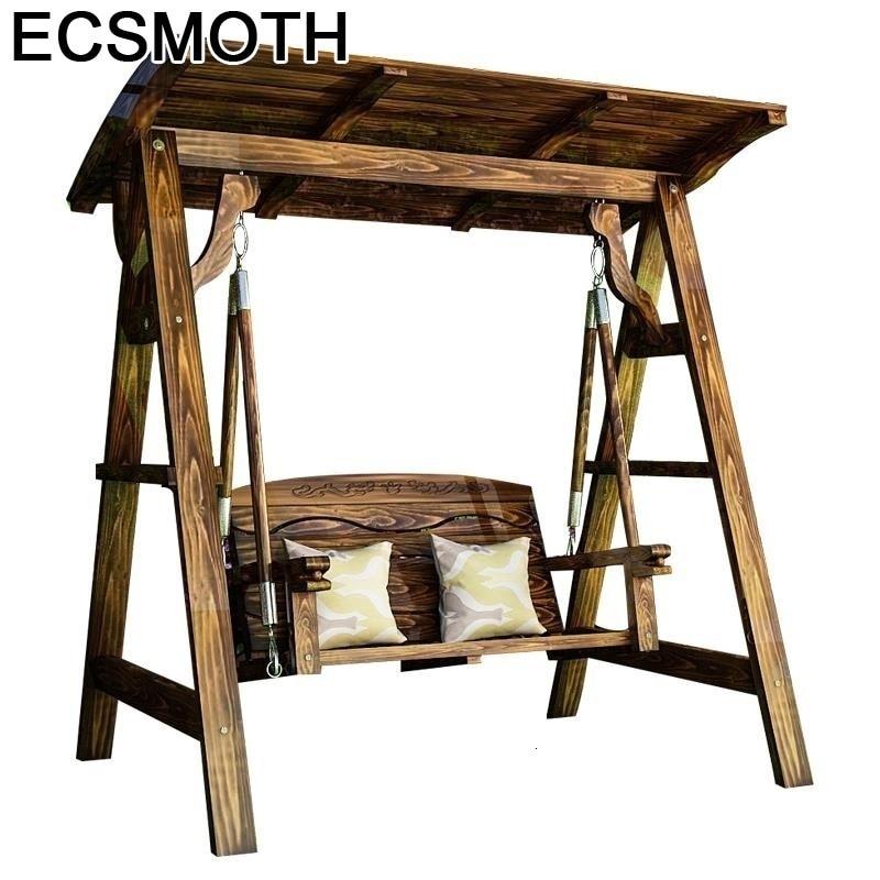 Arredo Mobili Da Giardino Hamac Balkon Vintage Wood Shabby Chic Wooden Furniture Mueble De Jardin Hanging Chair Outdoor Swing