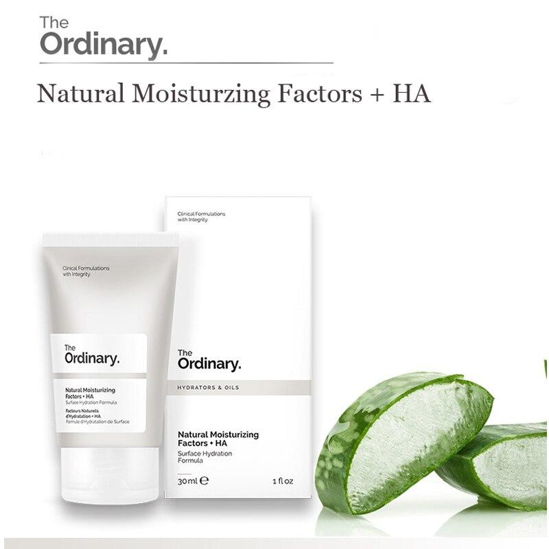 The Ordinary Natural Moisturising Factors + HA 30ml Hydrating Moisture Face Cream