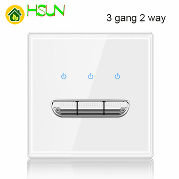 86 type White tempered glass reset toggle switch 1 2 3 4 gang 1 2 way retro hotel creative switch USB France Germany UK socket 7