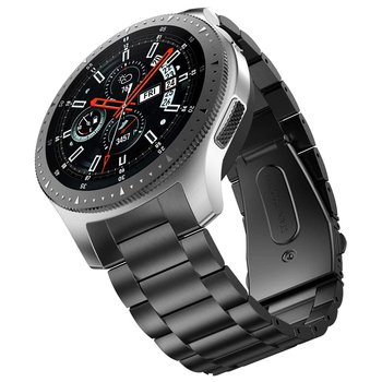 No Gap Design Gear S3 Frontier Band for Samsung Galaxy Watch 46mm Strap Solid Stainless Steel Business Gear S3 Classic Bracelet