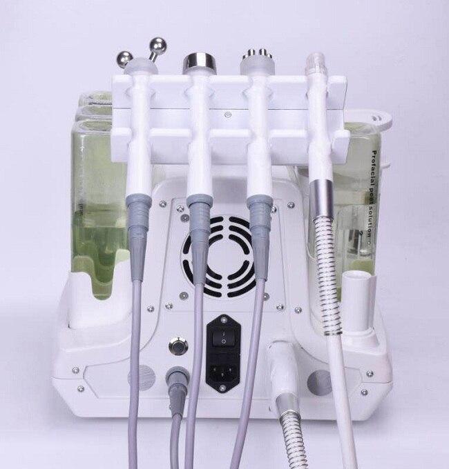 Najpopularniejsze urządzenie kosmetyczne rfmicro-bubble woda tlenowa 4 w 1 pielęgnacja skóry twarzy woda tlenowa peeling korea aqua peel machine