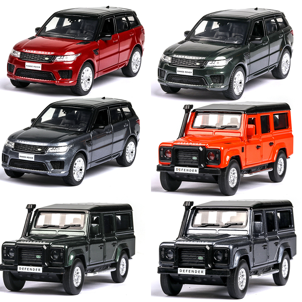 1:36 Vehicles Hot Wheel Car Land Rover Range Rover Machine Diecast Toy Model Metal Body