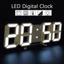 3D LED Night light Digital Clock Glowing Mode Brightness Adjustable Electronic Table Clock Display Alarm Clock kids for Room