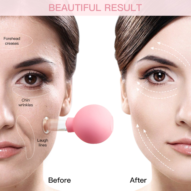 Rubber Massage Body Cups Vacuum Cupping Glasses Face Skin Lifting Body Facial Cups Anti Cellulite Chineses Cupping Therapy Tool 3