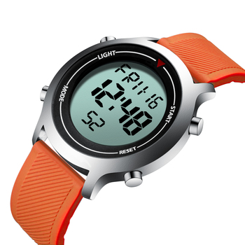 BIDEN Mens Watch Digital New Collection Wristwatch Silicone Tape Waterproof Top Brand Sport Design High Quality Erkek Kol Saati top margo collection top