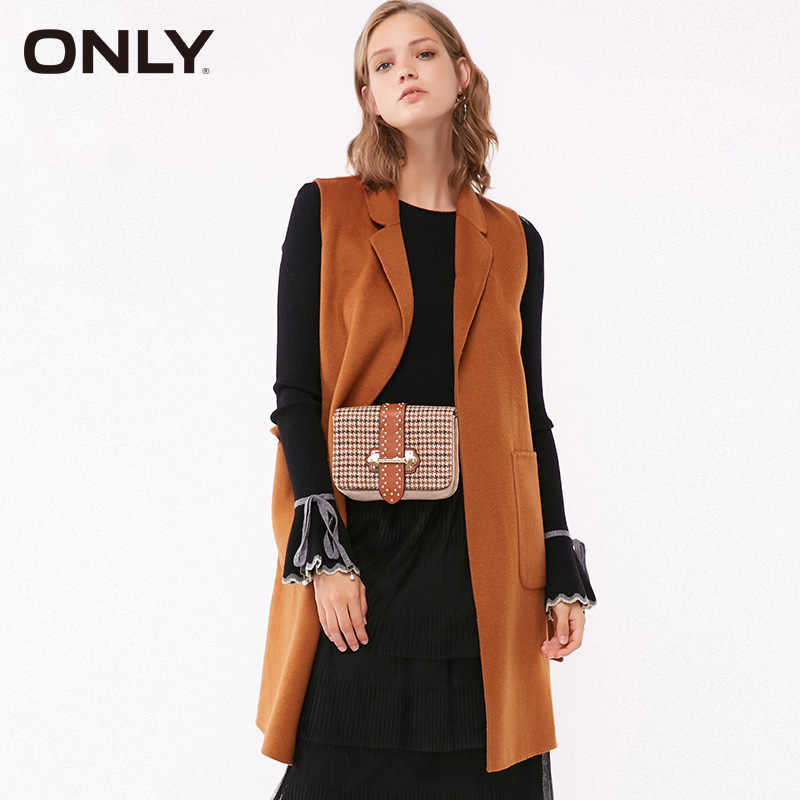 ONLY Women autumn and winter  wool waistcoat Coat Jacket |11834S509