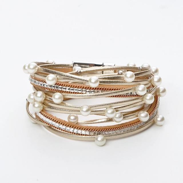 Bracelets Trendy Multilayer...