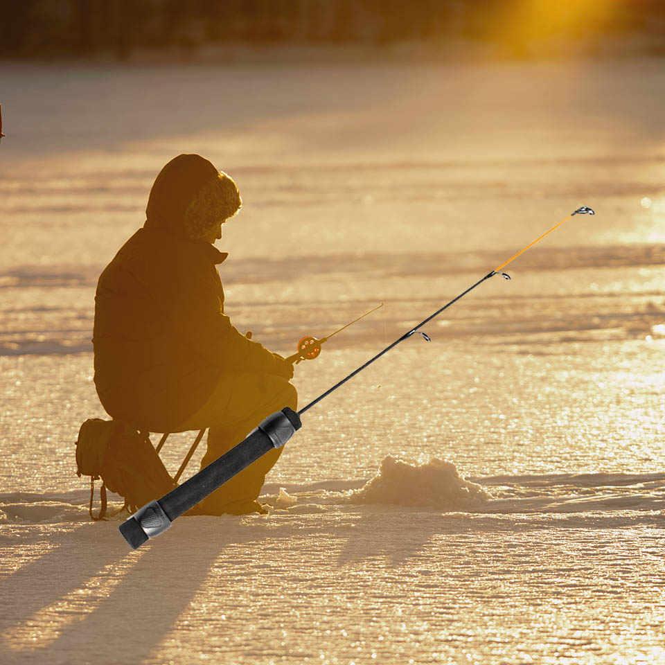 Hengel 50 cm Ijsvissen Glasvezel Staaf voor Winter Vissen L ML MH Power Hand Lokken Hengel g1