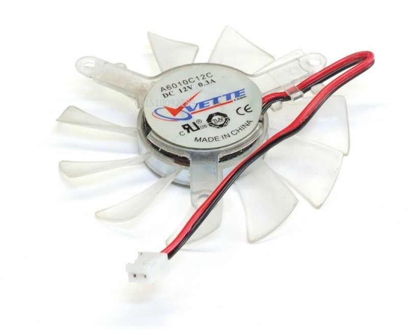 Genuine For Vette A6010C12C DC12V 0.3A 5510 5CM 55mm 55X55X10mm 3Pin 3Wire Graphics Cooling Fan Free Shipping