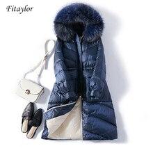 Fitaylor Women Coat Real