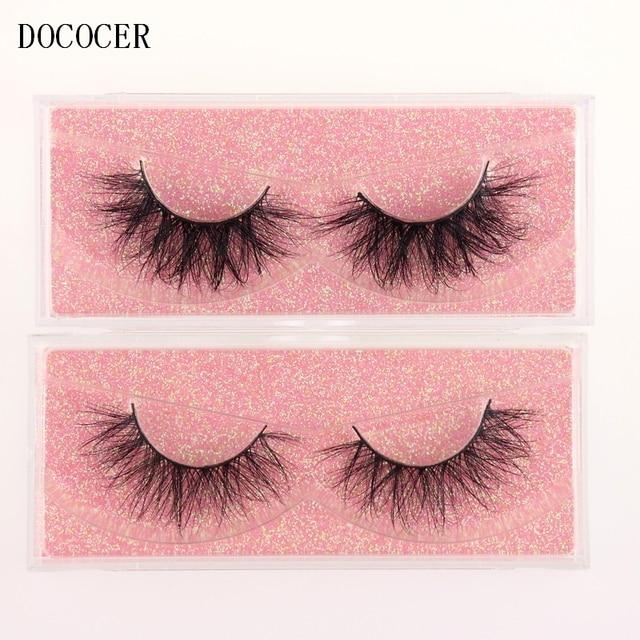 Mink Eyelashes 3D Mink 100% Cruel Eyelashes Handmade Natural Reusable Small Eyelashes False Eyelash Makeup Eye