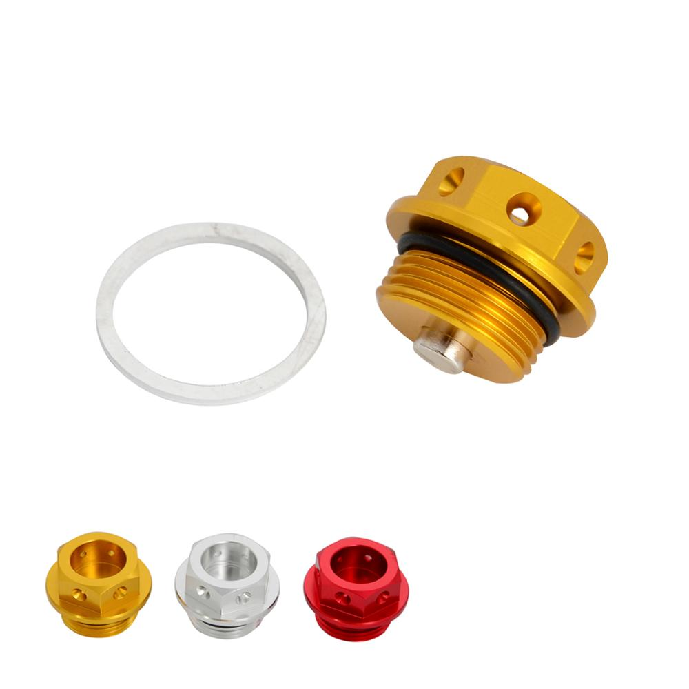 CNC <font><b>M22x1.5</b></font> Magnetic Engine Oil Drain Bolt Plug Nut For Ducati 999 998 916 749 748 Monster 1000 900 800 750 695 620 600 400 Etc image