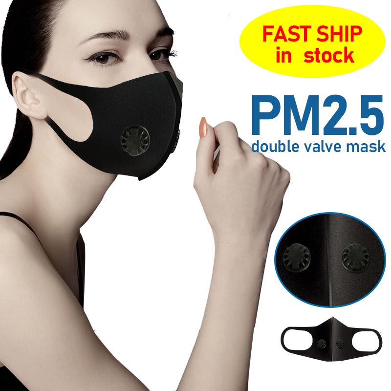 Cycling Face Mask With Filter Carbon Respirator An Anti-fog, Dust-proof And PM2.5 Masks Anti Face Shield Mouth Mask Unisex