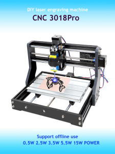 Laser Engraver Laser-Engraving-Machine Support Wood DIY Milling 3018pro MINI 3-Axis CNC