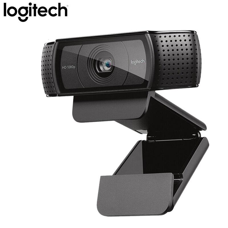 Logitech C920E HD 1080P Webcam Autofocus caméra appels vidéo avec Audio stéréo caméra USB prise en charge complète vérification officielle