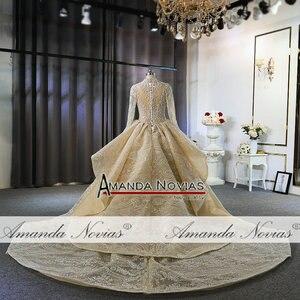 Image 5 - Роскошные свадебные платья с длинными рукавами