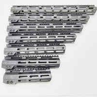 MLOK handguard flotteur gratuit Super mince ar 15 Handguard Quad Rail écrou en acier. 223 pour AR 15 M4 M16 7 9 10 12 13.5 15 17 19 22 pouces