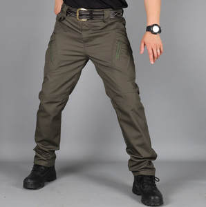 Cargo-Pants Tactical-Trousers Streetwear Joggers Hip-Hop Military Waterproof Multi-Pocket