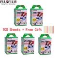 10/20/40/60/80/100 листы Fuji Fujifilm instax mini 11 9 3 дюймов белый край пленки для Фотоаппарат моментальной печати mini 8 9 11 фотоаппаратов моментальной печати 7s ...