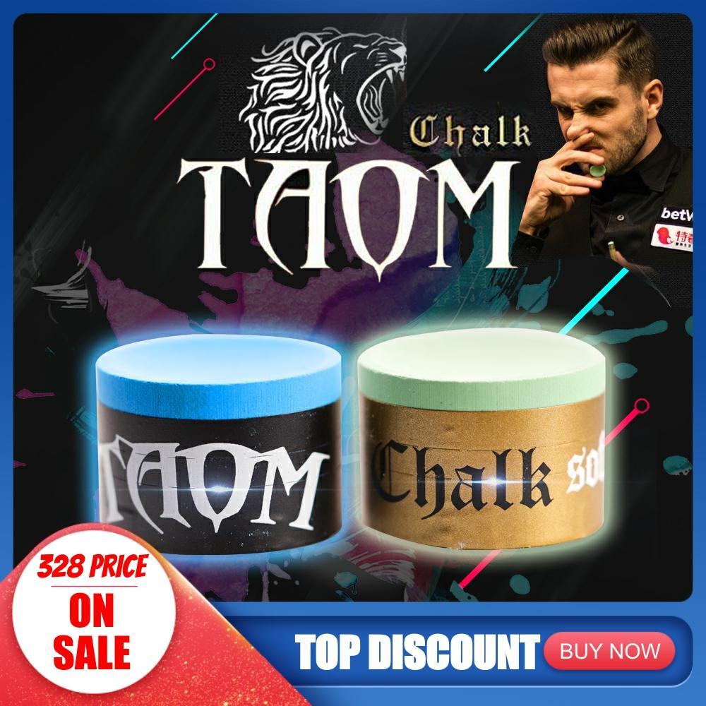 TAOM PYRO CHALK / TAOM SOFT CHALK Optimized For Pool, Pyramid Snooker And Carom Professional Billiards Chalk Pool Game Snooker