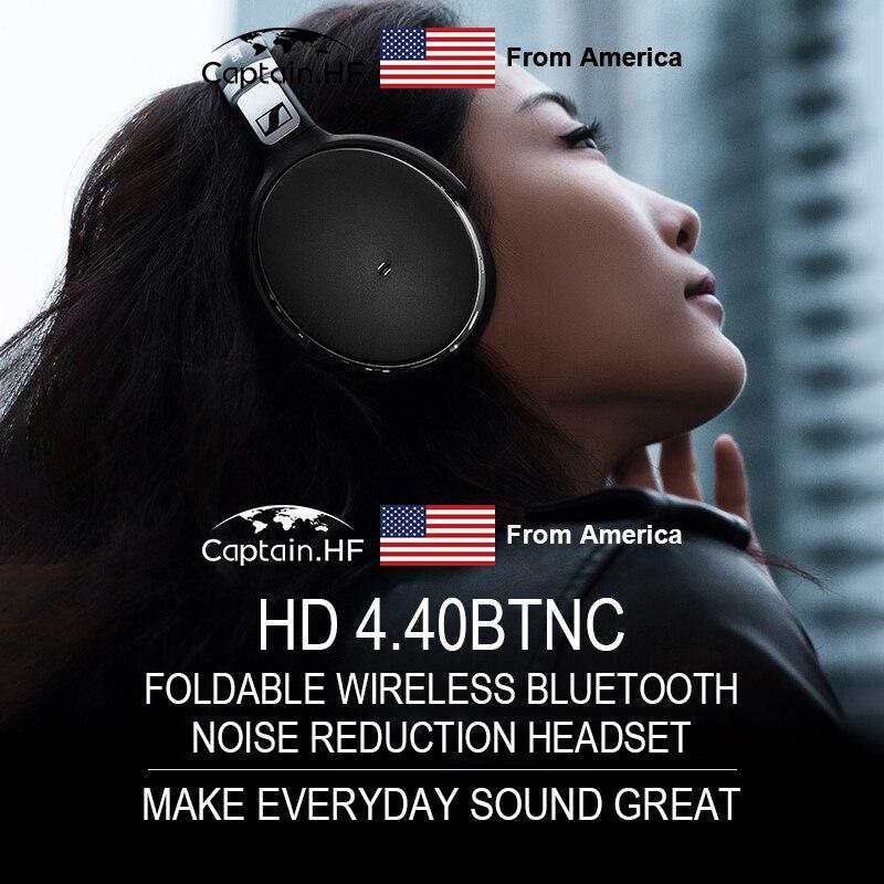 Нам капитан 4.40 Вт беспроводной Bluetooth черный наушники-вкладыши Привет-Fi наушники кв-х Bluetooth 4.0 для подключения мобильных телефонов