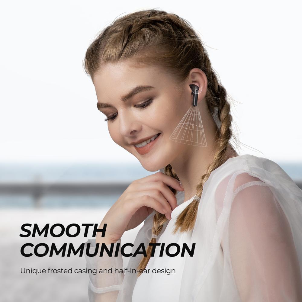 SOUNDPEATS TrueAir2 Wireless Earbuds Bluetooth V5.2 Headset QCC3040 aptX 4 Mic CVC Noise Cancellation TWS+ Wireless Earphones