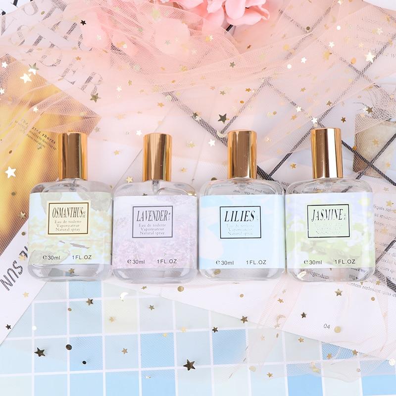 30ml Fashion Lady Flower Bottle Fresh Light Fragrance Parfum Women Perfume Long-lasting Female Parfum Atomizer