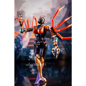 Image 3 - TE Action Figure Toys MM 001 MM001 Small Proportion G1 Blackarachnid Airachnid Poisonous Spider Beast Deformation Transformation