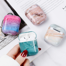 Case For Airpods Case Marble Cute Cover For Airpod 2 1 Cases Earphone Accessories Headphone Protective Case Charging Box Coque
