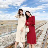 2019 nouveau Automn chaud femmes Stretch taille haute Floral longue jupe Maxi plissé décontracté populaire deux couleurs
