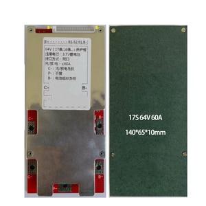 Image 3 - 7S 24V 13S 48V 16S 17S 60V 64V 20S 21S 72V 10S 50A Li ion bateria Lipo płyta ochronna 18650 paczek BMS PCM eBike wysoki prąd
