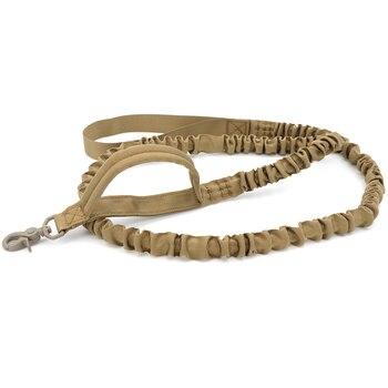 Bungee Dog Leash 2 Handle Cat Dog Pet Leash Elastic Leads Rope 4