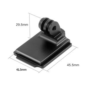Image 5 - New Helmet Aluminum Fix Mount for Sport Camera Mount Base Holder Competible with GOPRO Hero 1 2 3 3+ 4 5 Session Xiao mi yi Sj