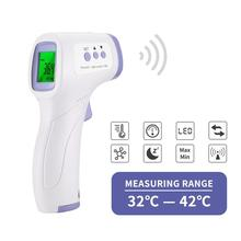 Digital Infrared Thermometer Non-Contact Forehead IR Ear Fever Electronic Laser Body Temperature Home Outdoor Kids Baby Adult