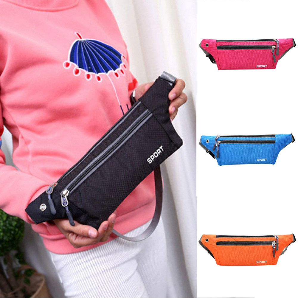 Sleeper #501 2019 FASHION Lady Outdoor Running Waist Bag Waterproof Phone Belt Belly Bag Fitness Bag поясная сумка Free Shipping