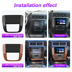 Image 2 - 2.5D 9 Inch Android 8.1 Car Multimedia Video Audio FM BT GPS Navigation Player For GMC Yukon Chevrolet Tahoe Suburban 2007 2012