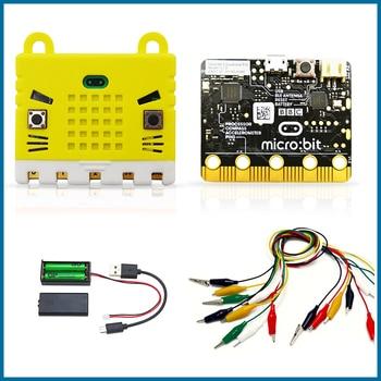 S ROBOT BBC microbit Go start kit with Protective Case Micro bit MBIT2 недорого