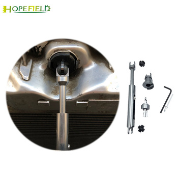 alloy Bonnet Release release repair kit tie rod front grille connecting hood lock latch For Ford Focus 2 MK2 For C-MAX