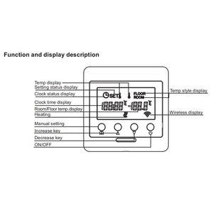Image 4 - Haozee Z Wave Plus termostat sterowanie ogrzewaniem podłogowym bezprzewodowy elektryczny system grzewczy inteligentna automatyka domowa