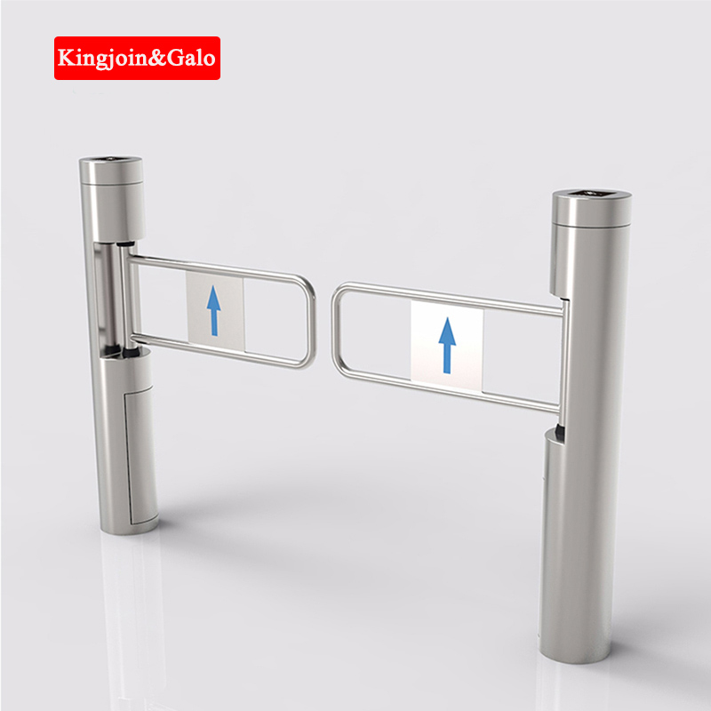 High Quality Baffle Double Door Opener Vertical Automatic Casement Supermarket Store Gym Can Install Fingerprint, Password Input
