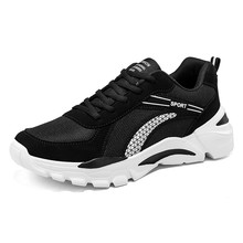 2020 New Mens Shoes Comfortable Lac-up Men Casual Sneakers Lightweight Breathable Walking Footwear Male Zapatillas Hombre